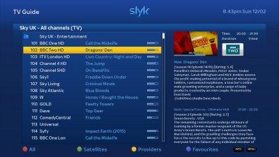 OpenATV Image Skins - Latest Slyk HD - SLYK Q - Mods/epg tabs skin