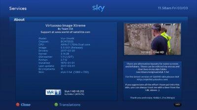 VU+ Uno4K Backup Images - OpenVIX 5 0 001 - Kodi 17 - Iptv player
