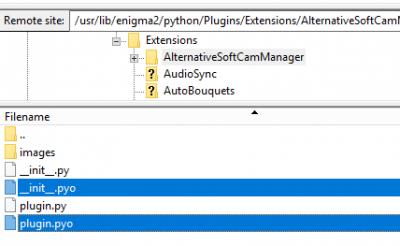 Plugins Support - alternative softcam manager & emu & config