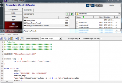 OScam - Removing previous version of OSCAM | vuplus-images co uk