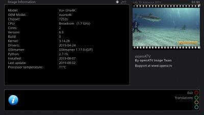 VU+ Uno4K Backup Images - openatv-6 3 ( public stable