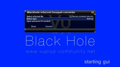 VU+ Plugins - Streaming & IPTV - M3uTo Bouquet ConverterPlugin
